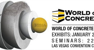 Cartel de la World of Concrete 2018