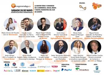 Vuelve el evento de referencia para e-commerce, social media y el marketing digital: eCongress Málaga