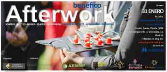 Business Afterwork con fines benéficos